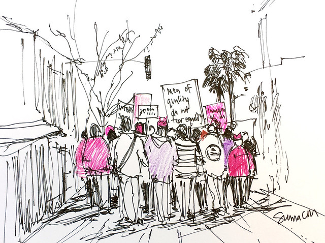 180120_Womens March San Jose