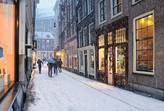 Winter Sale in the center of Amsterdam