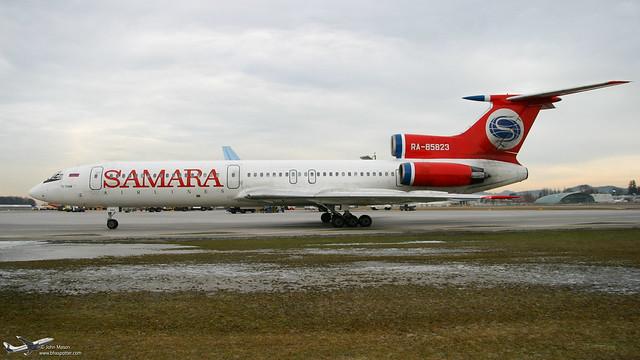RA-85823 TU154M SAMARA