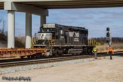NS 3319 | EMD SD40-2 | NS Memphis District