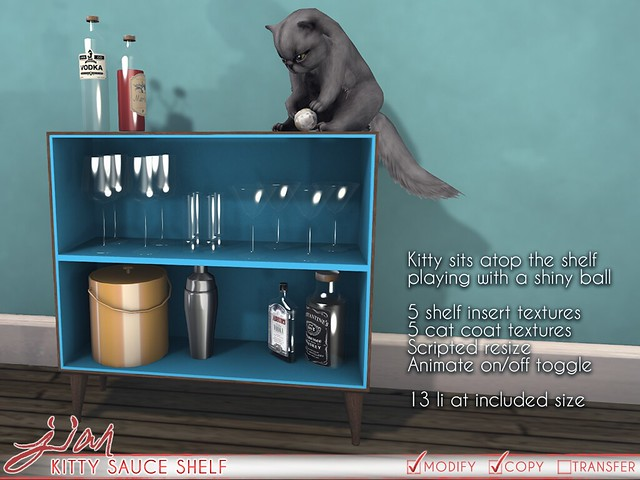 JIAN Kitty Sauce Shelf ( Uber )