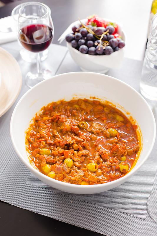 Mushroom Olive Tomato Sauce