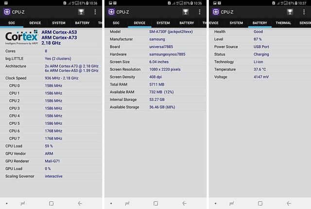 Hasil benchmark menggunakan aplikasi CPU Z (Liputan6.com/ Agustin Setyo W)
