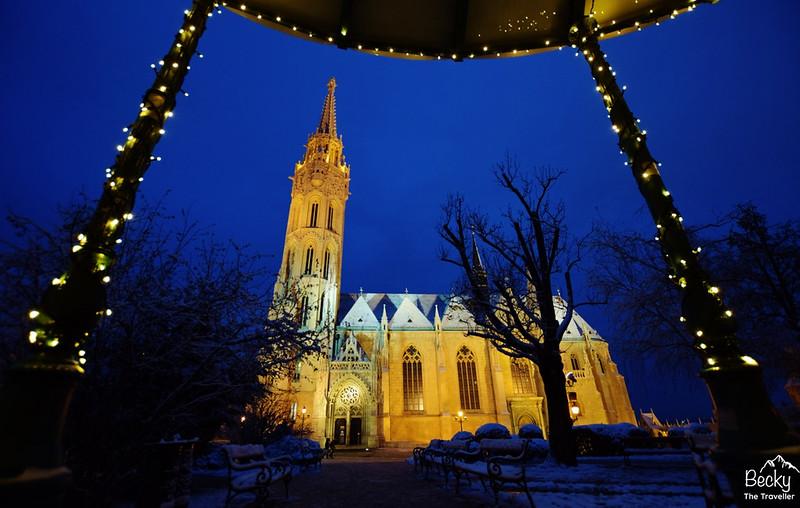 Budapest Hungary St Matthias Church