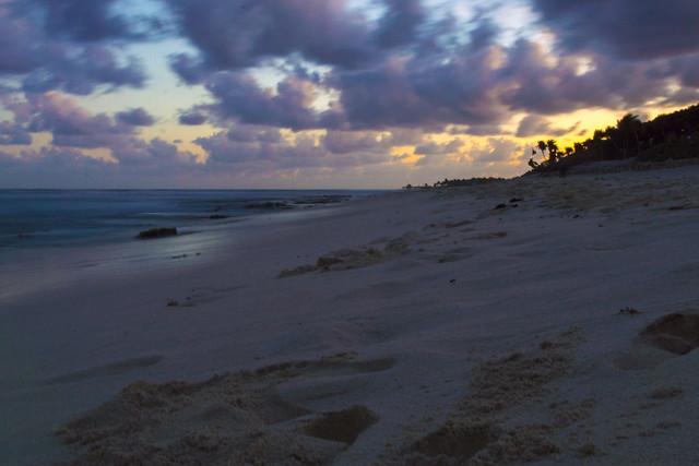 Tulum Beach - Long Exposure