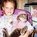Louise and Smokey about 1990