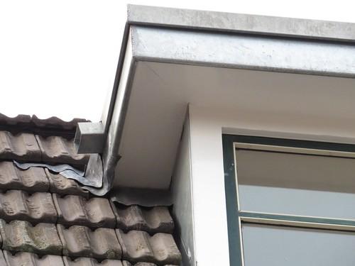 Gerenoveerde dakkapel zonder opening.