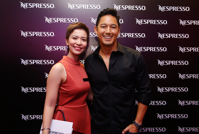 Novateur Coffee Concepts Marketing Head Melissa Valdez and Marc Nelson