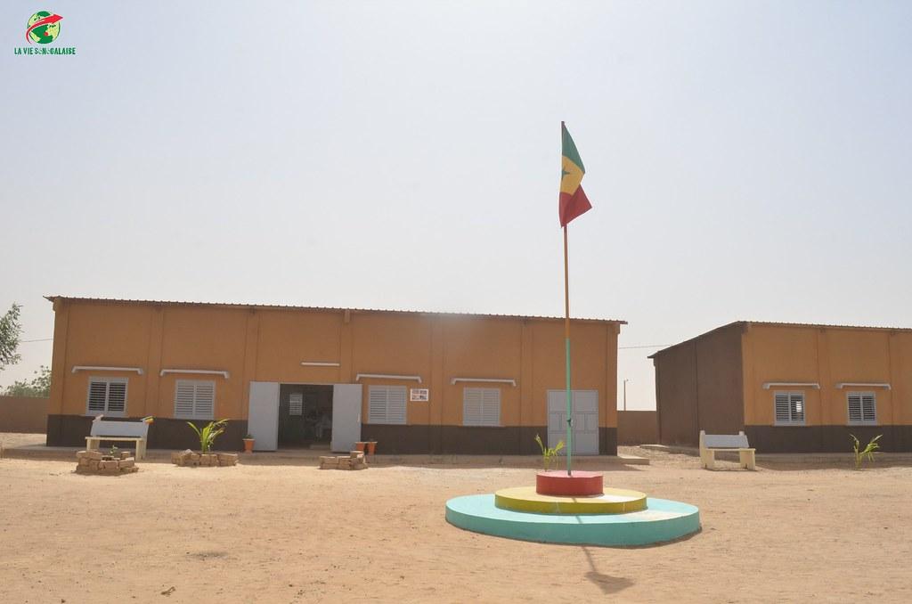 Inauguration d'infrastructures  de base à Mbakhna Par la Fondation SONATEL (4)