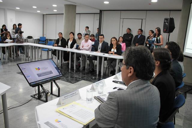 Rueda de prensa- Revisión de sumarios administrativos de docentes acusados de presunto cometimiento de abuso sexual