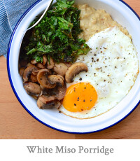 White Miso Porridge