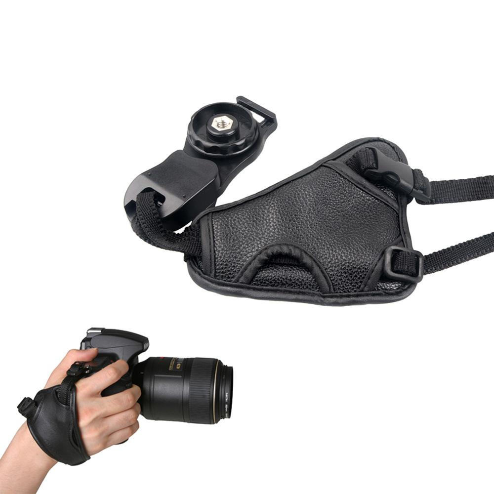 Hand strap dây đeo cổ tay máy ảnh thao tác nhanh có khóa gài