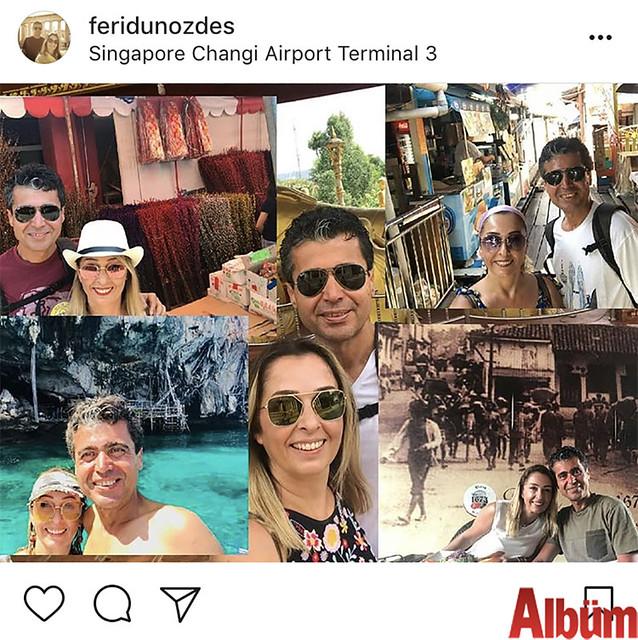 Özgün Kardelen Özel Eğitim ve Rehabilitasyon Merkezi'nin sahibi Feridun Özdeş ve eşi Perihan Özdeş Singapur'daki keyifli tatillerinden bu fotoğrafı paylaştı.