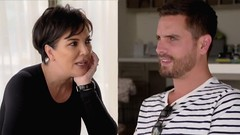 Kris Jenner Grills Scott Disick About Dating Sofia Richie -- Watch!
