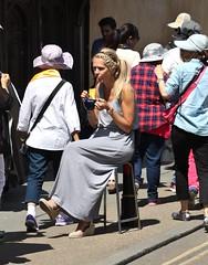 Canterbury High Street - June 2015 - Hot Chocolate with Braids