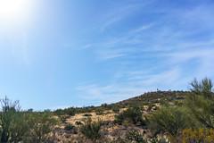 1801 SunZia route towards Edgar Canyon