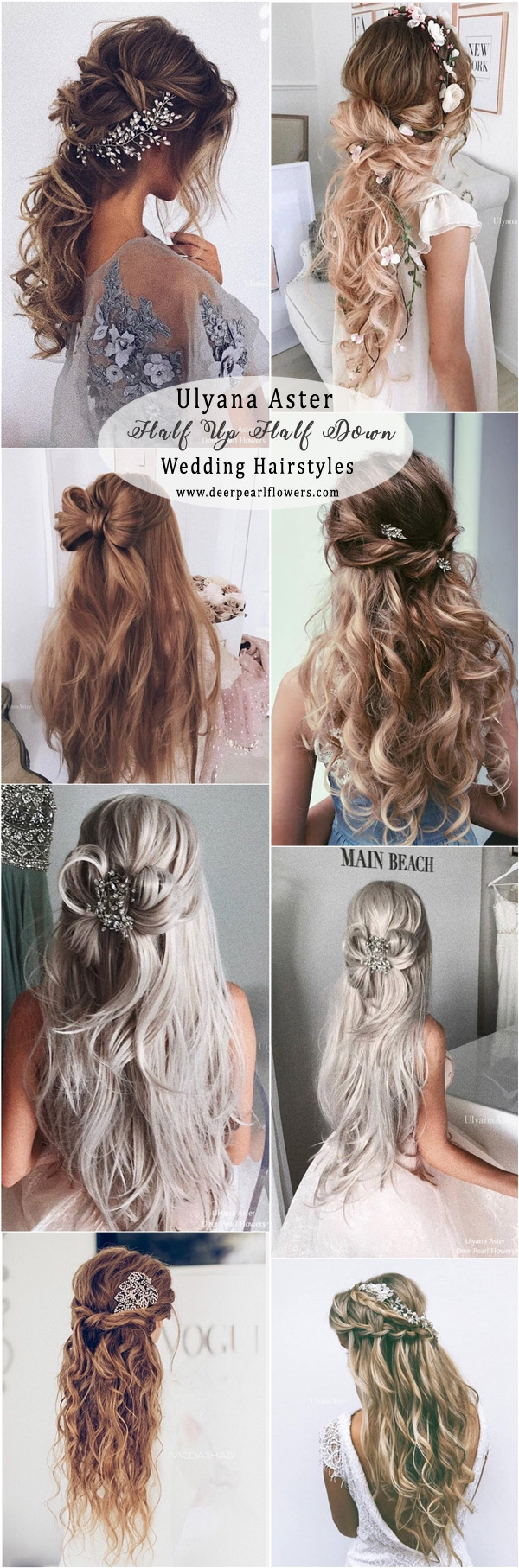 +10 Best Half Up Half Down Wedding Hairstyle Ideas 6