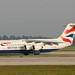 G-BXAR British Aerospace 146 Avro RJ100 British Airways