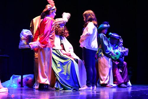 Los Reyes Magos en el Club Vistazul