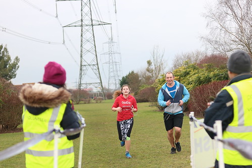 Didcot parkrun, event number 146 on 2018-01-13
