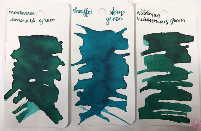 Ink Shot Review Monteverde Emerald Green @MonteverdePens @KnightsWritingC 1