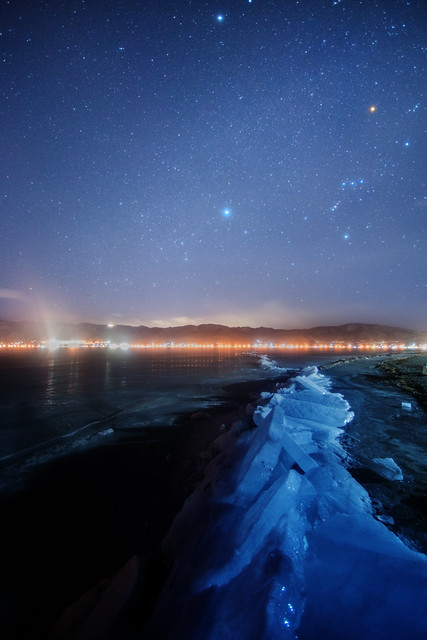 Winter galaxy across the, Nikon D800, AF Nikkor ED 14mm f/2.8D