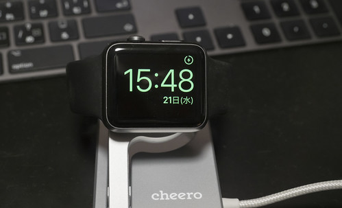 cheero Charging Dock for Apple Watch_09
