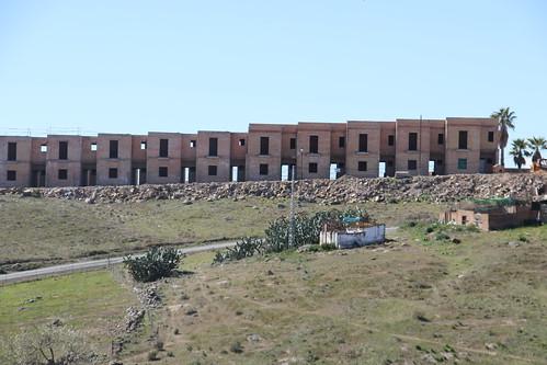 Unfinished Spanish Houses
