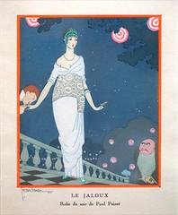 Le jaloux par Georges Lepape (Musée des années 30, Boulogne-Billancourt)