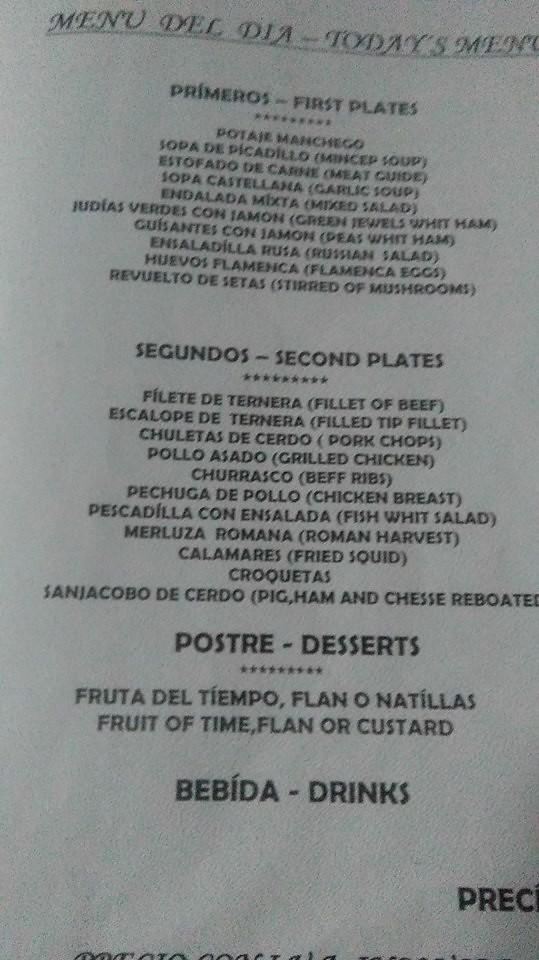 worst menu