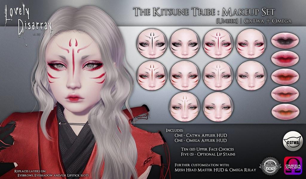 The Kitsune Tribe - Unisex (Catwa + Omega) - TeleportHub.com Live!