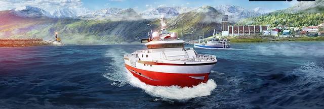 Rybaření Barentsovo moře - jezdecké vlny