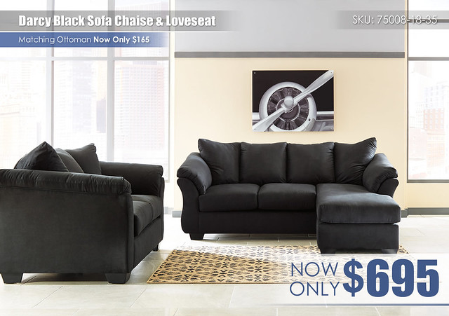 Darcy Black Sofa Chaise & Loveseat_75008-18-35