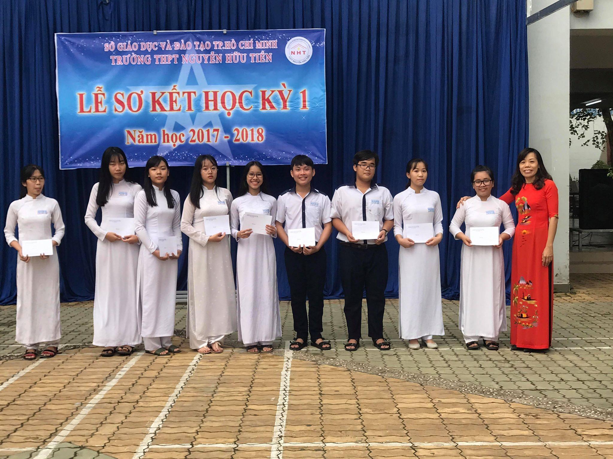 Lễ sơ kết học kỳ 1 năm học 2017-2018