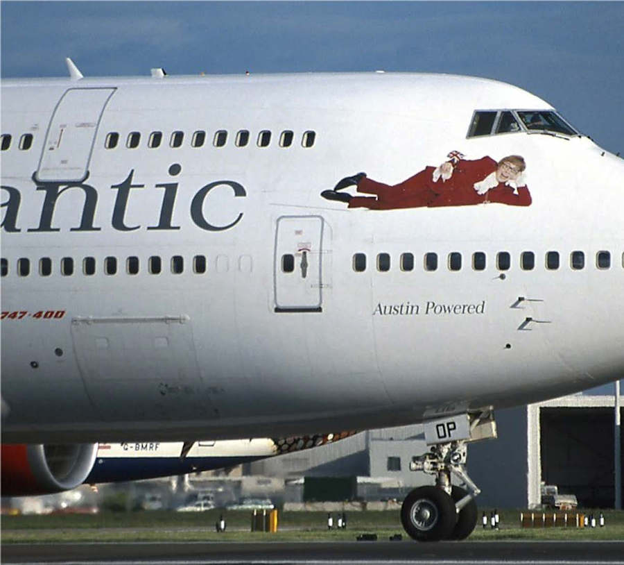 Virgin Atlantic liveries
