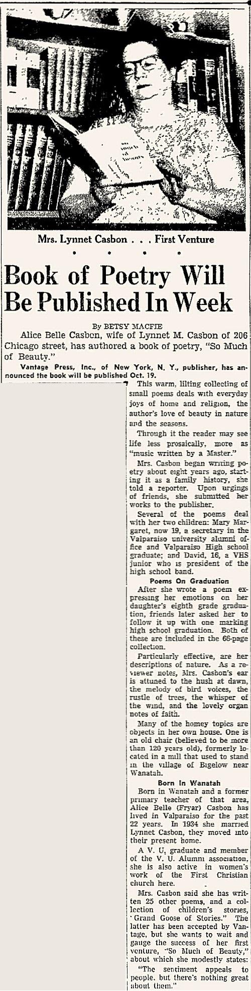 Casbon Belle Fryar Vidette 12 Oct 1956b