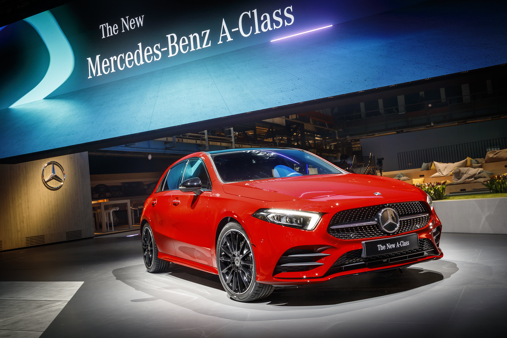 This is the new Mercedes-Benz A-Class