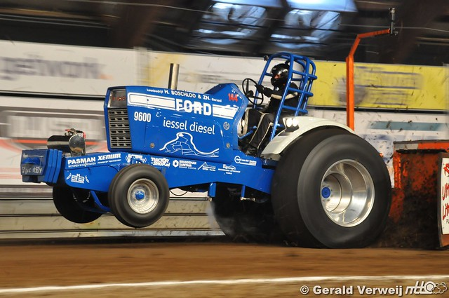 NTTO Indoor Tractorpulling Zwolle Light Superstocks 2018