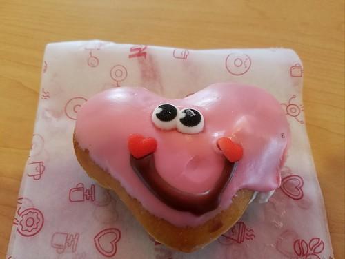 Valentine's Day Doughnut