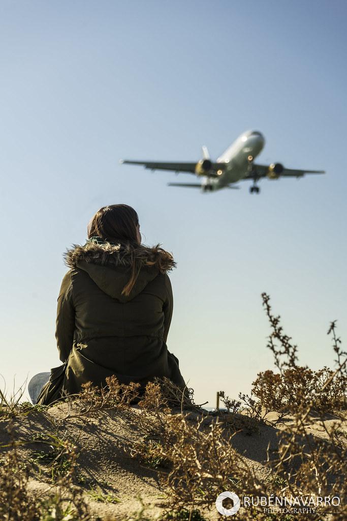 Aeropuerto del Prat mirador aviones