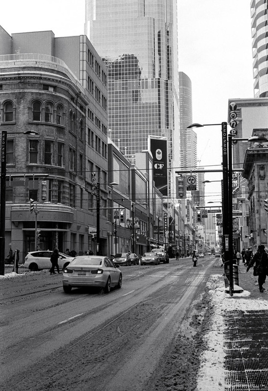 Yonge and Queen Looking North