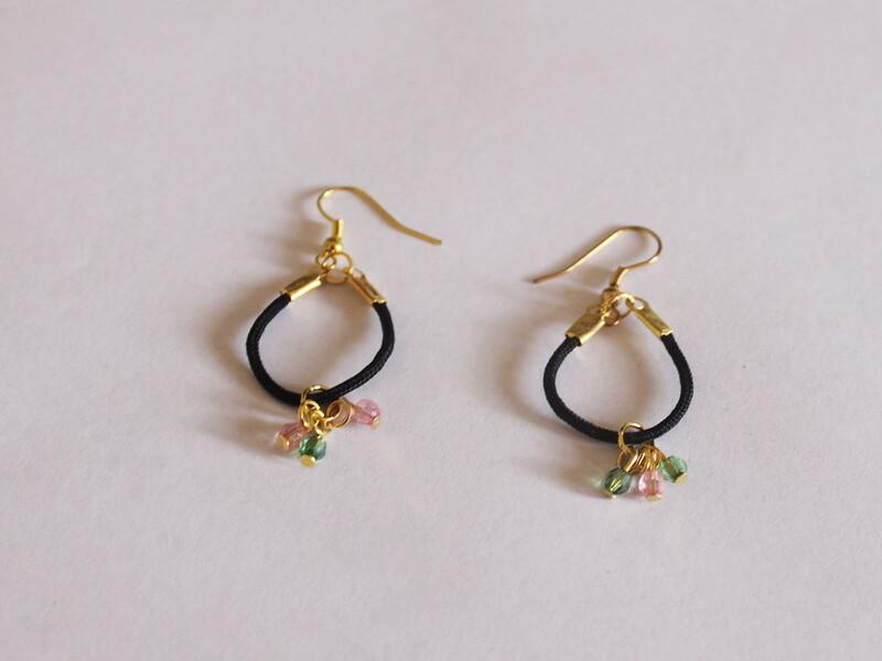 string hoop earrings 1