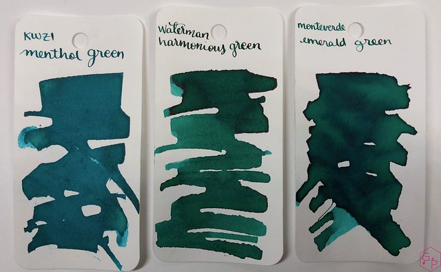 Ink Shot Review KWZI Menthol Green @AppelboomLaren 1