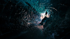 Exploring Ice Caves - Iceland - Travel photography