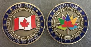 Canada 150 medal