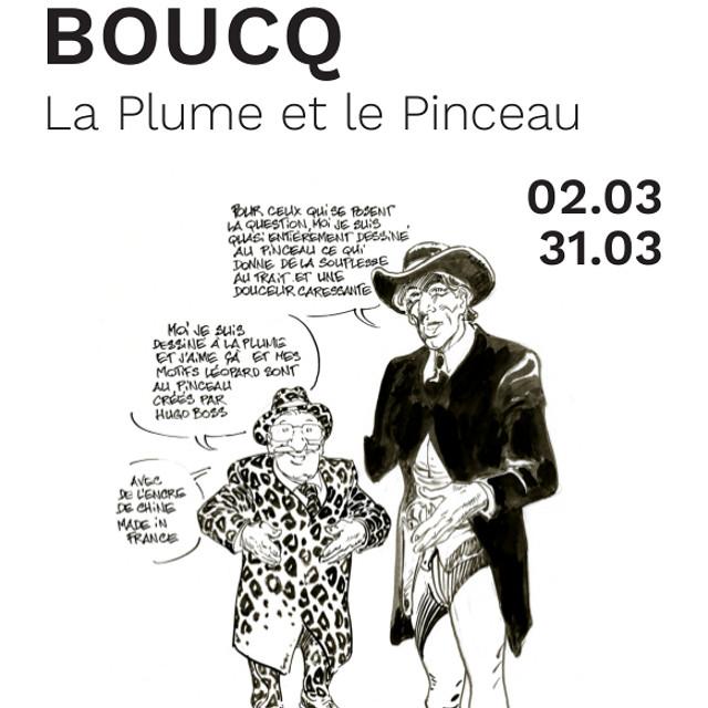 Francois Boucq : La Plume et le Pinceau - H&B Gallery Paris