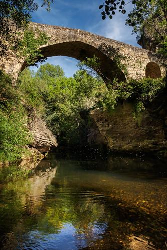 Puente medieval en hoz del Jarama