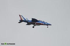 E94 5 - E94 - Patrouille de France - French Air Force - Dassault-Dornier Alpha Jet E - RIAT 2008 Fairford - 070711 - Steven Gray - IMG_6375