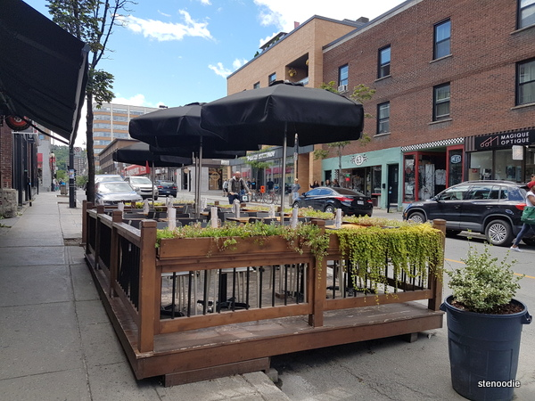 Montreal patios