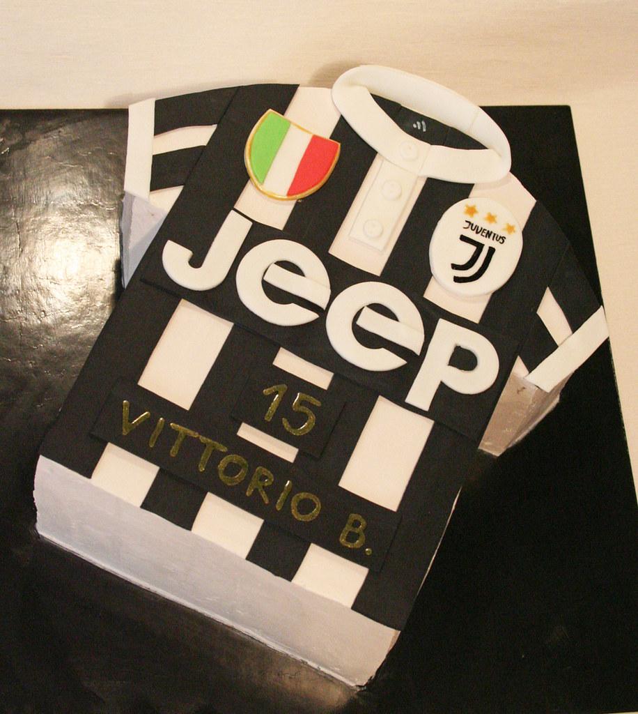 Juventus Shirt Cake A Photo On Flickriver